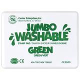 "Center Enterprises Inc Jumbo Stamp Pad Washable, in Green, Size 6.7"" H x 5"" W x 1"" D | Wayfair CE-5503"
