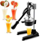 Ktaxon Hand Press Manual Citrus Juicer in Black/Orange, Size 16.9 H x 7.5 W x 11.0 D in | Wayfair wf1-G27000059