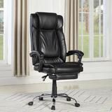 Latitude Run® Cypress Ergonomic Executive Chair Aluminum/Upholstered in Black/Gray, Size 52.76 H x 27.56 W x 29.92 D in | Wayfair