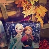 Disney Other   Frozen Lunchbox   Color: Blue/Purple   Size: Osg
