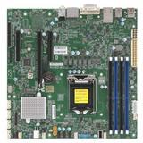 Supermicro Motherboard MBD-X11SCZ-Q-O Core i7/i5/i3 S1151 Q370 64GB PCI Express 95W uATX Retail