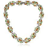 "Ben-Amun Jewelry Citrus Multi-Stone Necklace, 17"""