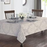 Berrigan Oblong Tablecloth, 70 x 84, Silver