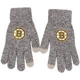 """""""Men's Gray Boston Bruins Knit Gloves"""""""