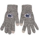 """""""Men's Gray Penn State Nittany Lions Knit Gloves"""""""