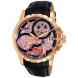 Ak5664 Black Dial Watch -0rgbk - Pink - Adee Kaye Watches