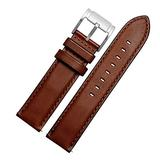 Choco&Man US Timex Calfskin Leather Watch Band with Tool Replacement for Men's Timex Watches