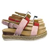 Children Espadrille Flatform Sandal - Girl Kids Open Toe Platforms
