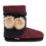 MUK LUKS Women's Delanie Slippers - Red,XL