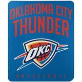 "The Northwest Company Oklahoma City Thunder 50"" x 60"" Layup Fleece Throw Blanket"