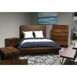 Ocean Full-size Solid Wood Platform Bed in Natural Sengon - Modus 8C79P4