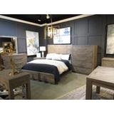Alexandra King-size Solid Wood Platform Bed in Rustic Latte - Modus 5RS3H7