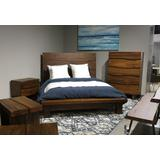 Ocean King-size Solid Wood Platform Bed in Natural Sengon - Modus 8C79P7