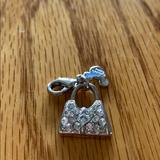 Disney Jewelry | Disney Minnie Mouse Charm | Color: Silver | Size: 1