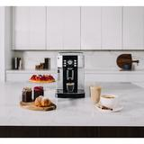 DeLonghi ECAM22110S Magnifica XS Fully Automatic Espresso & Cappuccino Machine w/ Manual Cappuccino System in Gray, Size 13.8 H x 9.4 W x 17.0 D in
