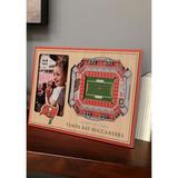 You The Fan Red NFL Tampa Bay Buccaneers 3D StadiumViews Picture Frame - Raymond James Stadium
