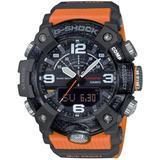 Analog-digital Connected Mudmaster Orange & Black Resin Strap Watch 53.1mm - Black - G-Shock Watches