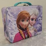 Disney Other   Disney Frozen Ana Elsa Kids Lunchbox Gift School   Color: Blue/White   Size: 6x7.5
