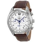 Chronograph White Dial Watch - Metallic - Seiko Watches