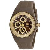 Technomarine TM-118110 Women's Cruise Glitz Gold with Brown Dial Watch