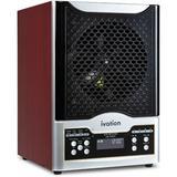 Ivation 5-in-1 Air Purifier & Ozone Generator w/ HEPA Filter in Black, Size 12.75 H x 9.8 W x 8.9 D in | Wayfair IVADGOZHEPA