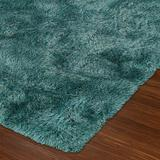 Amour Rectangle Rug, 8' x 10', Teal
