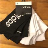 Adidas Accessories   Adidas Black And White Low Cut Socks 6pack   Color: Black/White   Size: Os