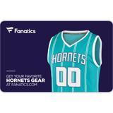 Charlotte Hornets Fanatics eGift Card ($10 - $500)