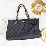 Kate Spade Bags   Kate Spade Black Quilted Bow Chain Strap Purse   Color: Black   Size: Os