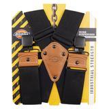Dickies 2-Inch Wide Work Suspenders - Black Size One (L10272)