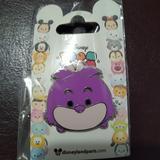 Disney Other | Disney Paris Tsum Tsum Pin Cheshire Cat | Color: Purple | Size: Os