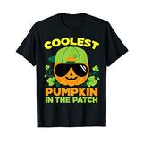 Pumpkin Patch Shirt For Boys Coolest Matching Halloween T-Shirt