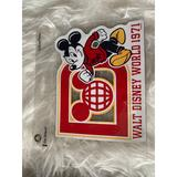 Disney Other | New Walt Disney World Mickey 1971 Car Magnet | Color: Red/Yellow | Size: Os