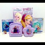 Disney Kitchen   Disneys Frozen Color & Lunch Set   Color: Blue/Purple   Size: Os