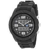 U.S. Air Force Men's Analog-Digital Chronograph Black Resin Strap Watch by Wrist Armor, F3/1009