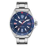 Nautica Men's Quartz Stainless Steel Strap, Silver, 22 Casual Watch (Model: NAPCPS904)