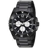 ESQ Men's Black Stainless Steel Multifunction Bracelet Watch FE/0240