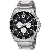 ESQ Men's Stainless Steel Multifunction Bracelet Watch FE/0242