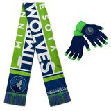 """Minnesota Timberwolves Gloves & Scarf Set"""