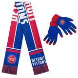 """Detroit Pistons Gloves & Scarf Set"""