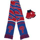 """Women's Philadelphia Phillies Glove and Scarf Set"""