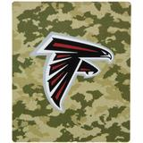 "The Northwest Company Atlanta Falcons 50"" x 60"" Camo Silk Touch Throw Blanket"