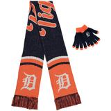 Women's Detroit Tigers Glove and Scarf Set