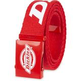 Dickies Logo Web Belt - Red Size One (L10269)