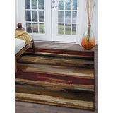 Dakota Multi-Color Machine Washable Large Area Rugs 8x10 for Living Room & Bedroom - Modern Carpet - Alfrombras para Salas Grandes Modernas