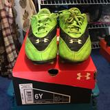 Under Armour Shoes | Guc Soccer Cleats | Color: Blue/Green | Size: 6bb