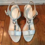 Coach Shoes | Coach Genesis Patent Leather Heels | Color: White | Size: 7.5