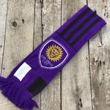 Adidas Accessories | Adidas Purple Orlando City Soccer Club Scarf | Color: Black/Purple | Size: Os