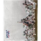 """The Northwest Company NFL 100 Fog Playoff Silk Touch Throw Blanket"""