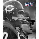 The Northwest Company NFL 100 Legends Silk Touch Throw Blanket